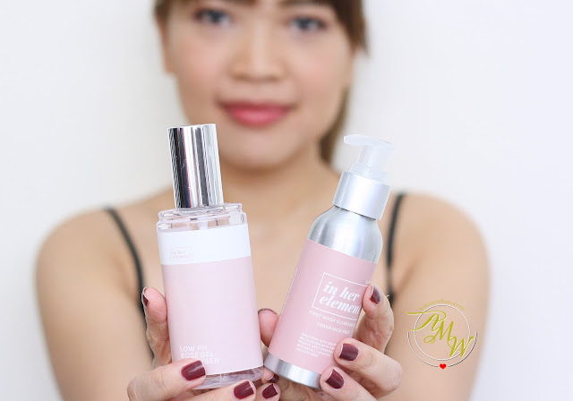 a photo of In Her Element First Wash Cleansing Oil and Low PH Rose GEl Cleanser Review