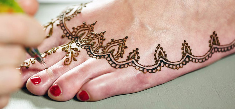 Leg Mehndi Simple : Beautiful punjabi mehndi designs images