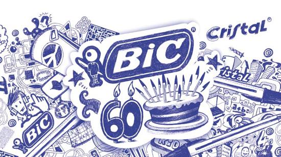 Bic Cristal 60th Anniversary