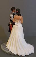 cake tops decorazioni per torta idea regalo moglie statuine ricordo matrimonio orme magiche