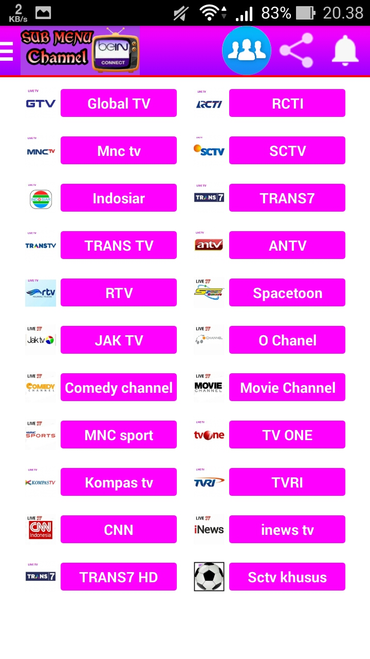 Bein Connect Aplikasi Live Streaming Bola Di Android Premium