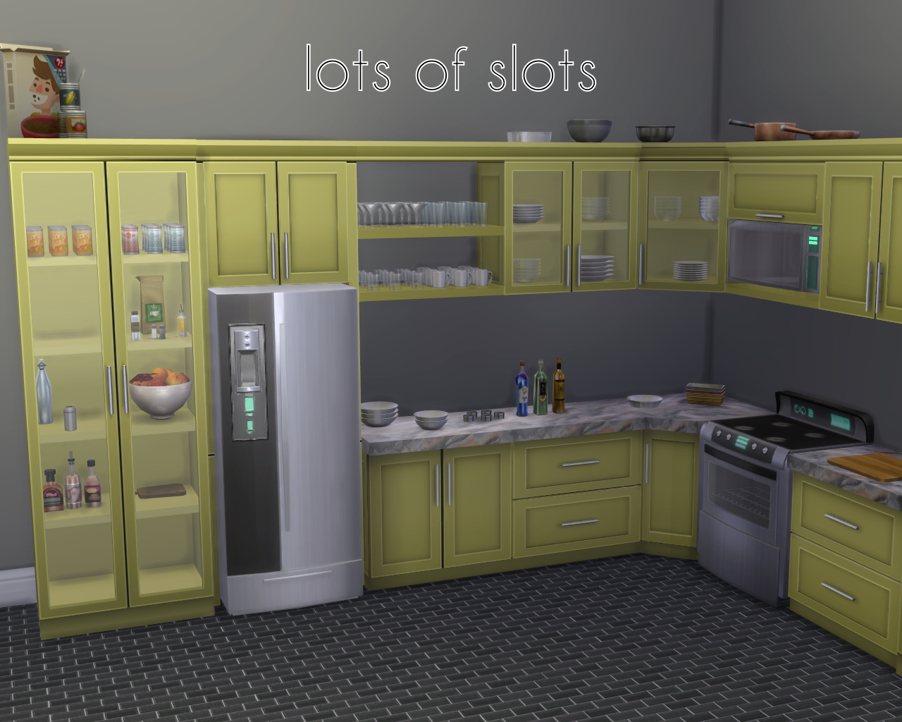 My sims 4 blog sumptuous kitchen set by madhox for My kitchen set