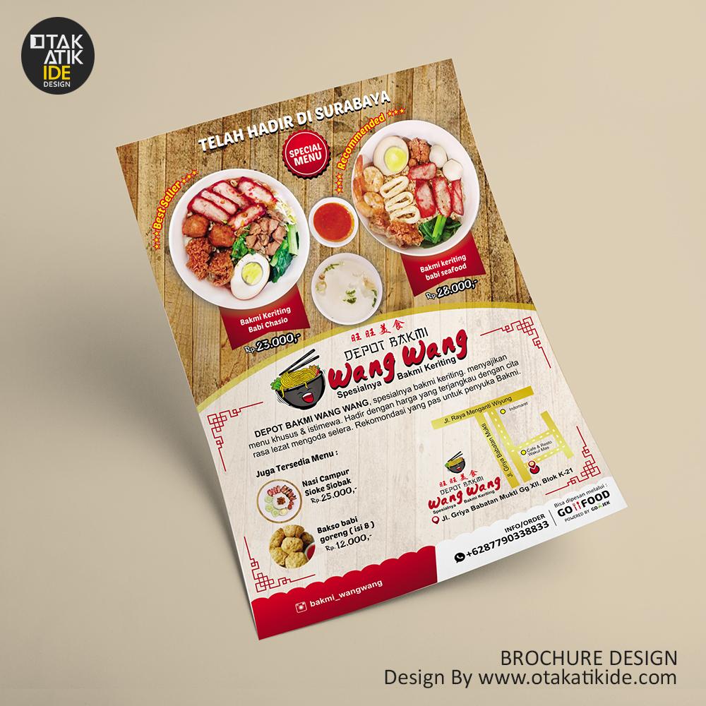 Jasa Desain Brosur Rumah Makan Otakatikide Jasa Desain Logo Jasa Desain Branding Kemasan Desain Promosi Ukm