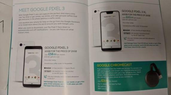 تسريبات جديدة لهاتف Google Pixel 3