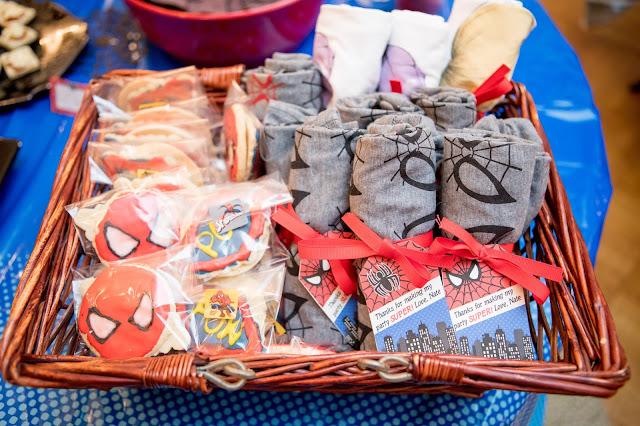 spiderman favors