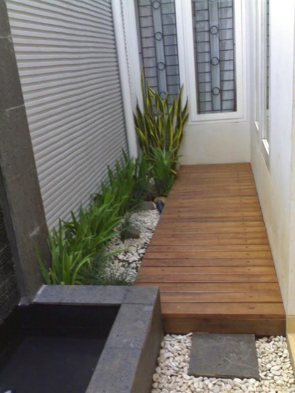 taman rumah kecil minimalis