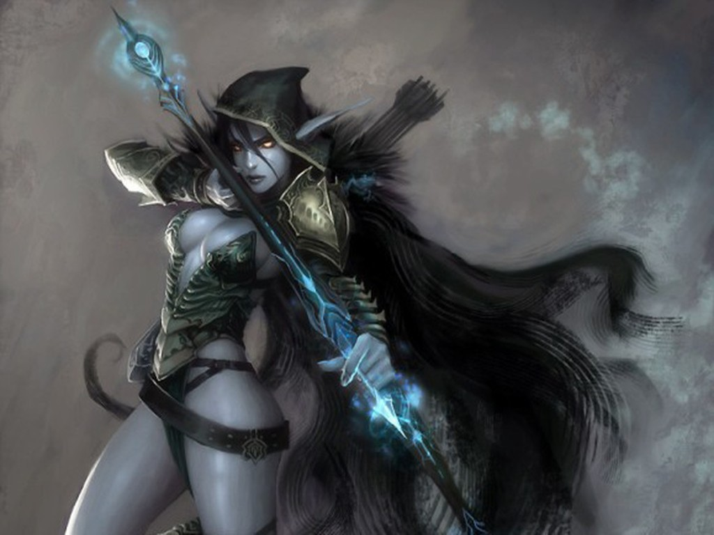 Archer Warrior Elves Fantasy Art Wallpapers Hd: Dota 2 Wallpaper