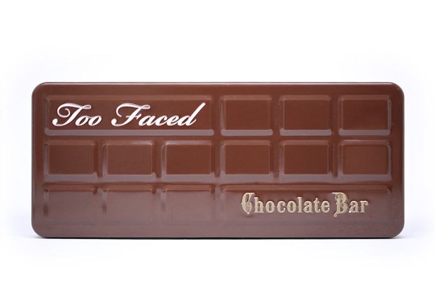 Review Swatches Too Faced Chocolate Bar Palette From