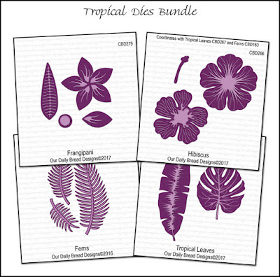 Tropical Dies Bundle