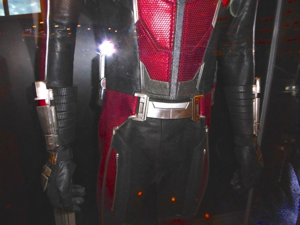 Civil War AntMan costume detail
