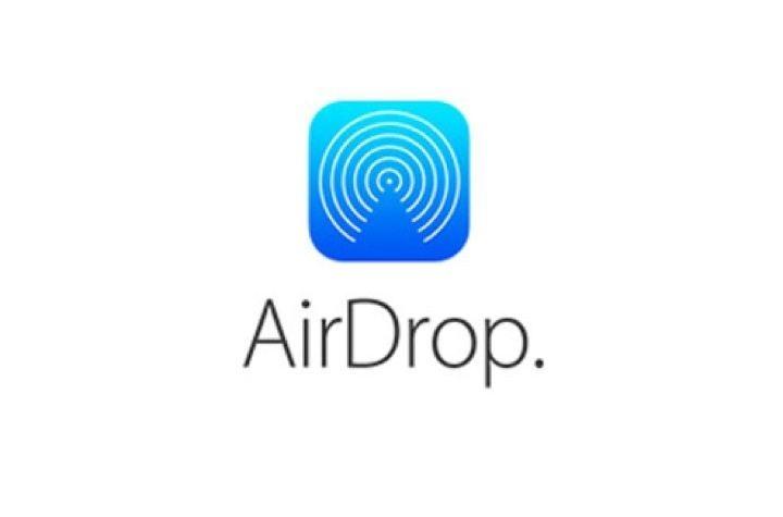 logo airdrop apple