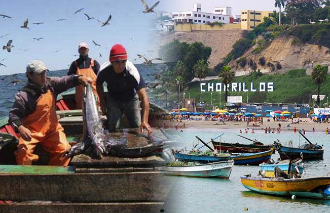 turismo pescadores playas chorrilos lima peru