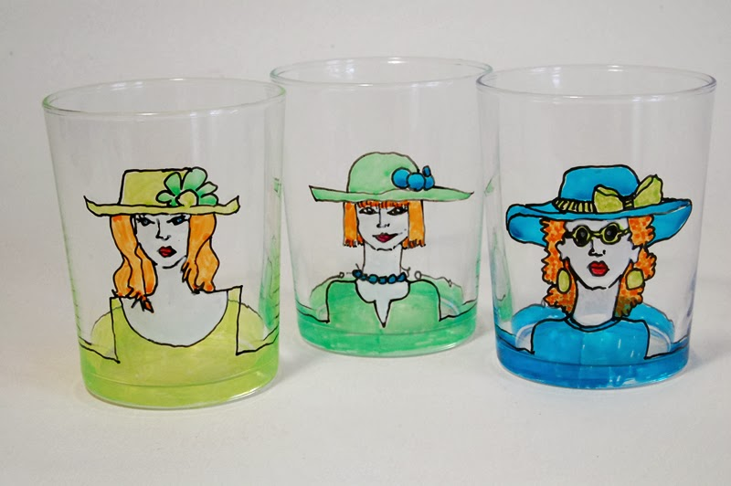 Kunstvoll Leben Ideenwelt Live 5 Glas Und Keramikfarbe Im