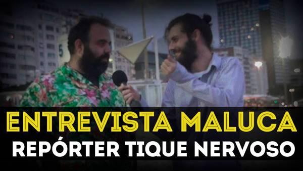Pegadinha - Entrevista maluca com Repórter Tique Nervoso Primitivos