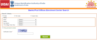 bank post offices enrollment center search
