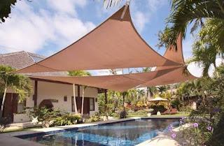 canopy membrane jenis layang-layang