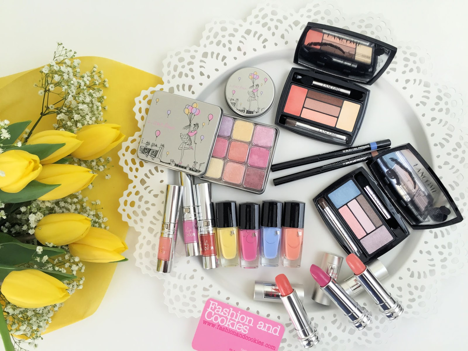 Lancôme makeup collection for Spring 2016 My Parisian Pastels review on Fashion and Cookies beauty blog, beauty blogger