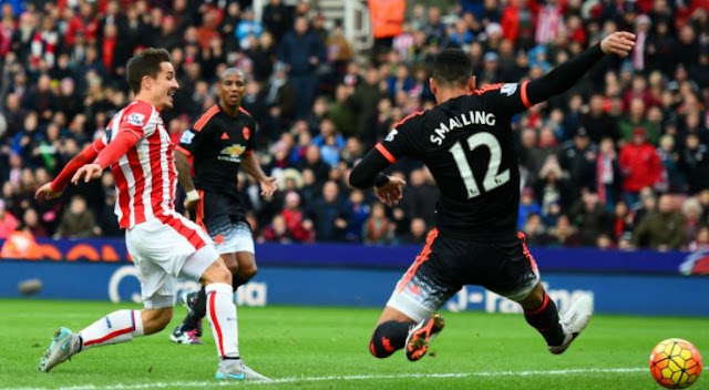 Stoke City 2 vs 2 Manchester United (WATCH Highlights and Goals Here)