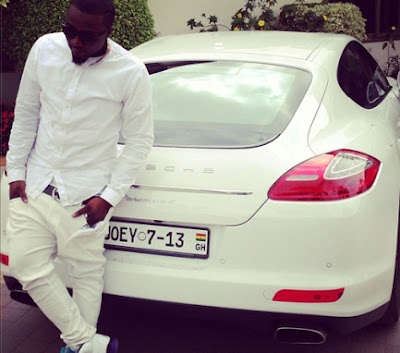 Ice Prince Zamani With Car