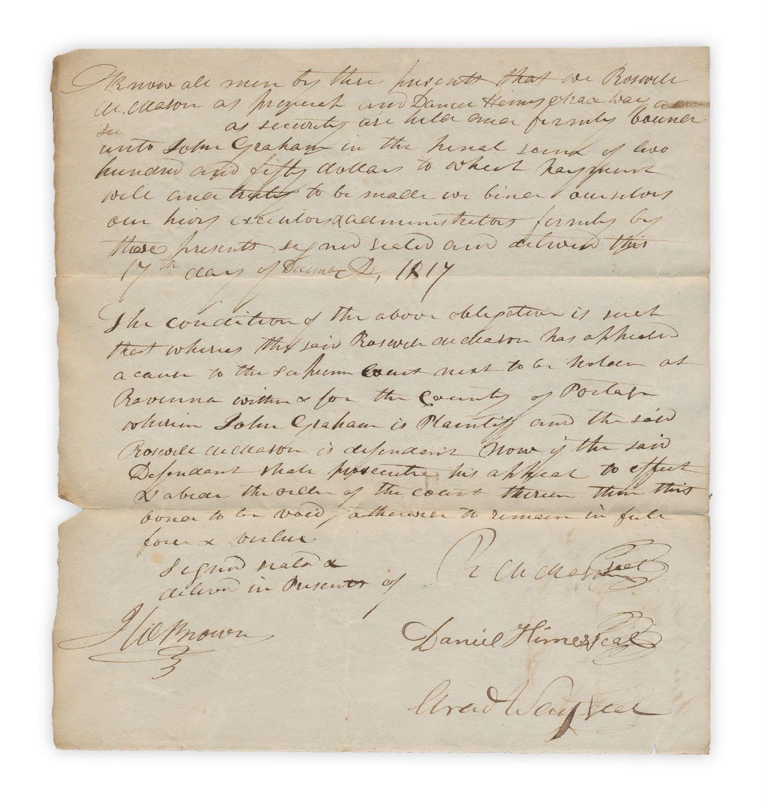 Forgotten Bookmarks: Signed, Sealed, Delivered