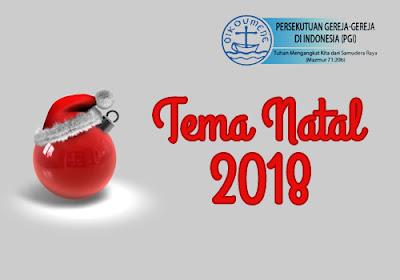 tema natal nasional pgi 2018