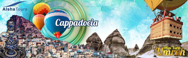 Cappadocia & wisata balon udara