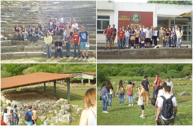 Φοιτητές του ΤΕΙ Ηγουμενίτσας επισκέφθηκαν τα Γίτανα