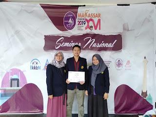 Sosialisasikan GERMAS di Kalangan Mahasiswa,  Juara di Public Health Competition 2019