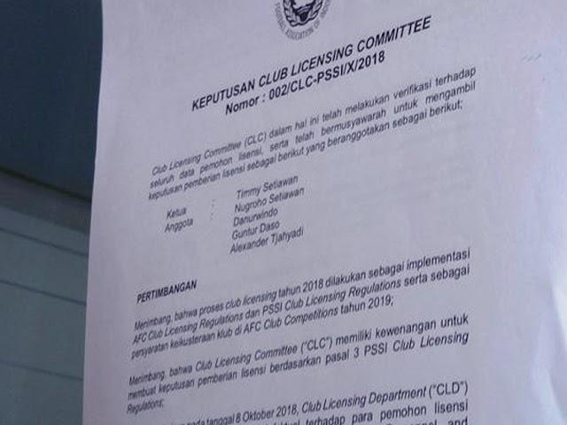 Persib Bandung Kantongi Lisensi Klub Profesional dari AFC