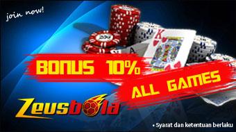 Bonus 10% All Games