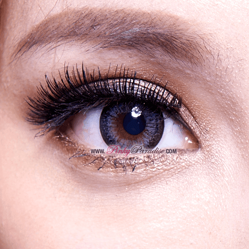 G&G DM23 Grey Circle Lenses Close-up