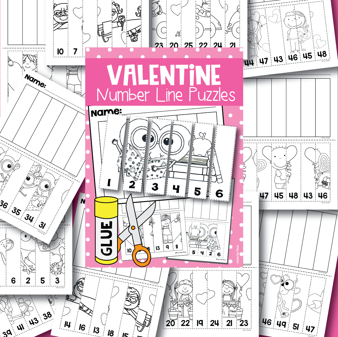 Valentine S Day Number Fun