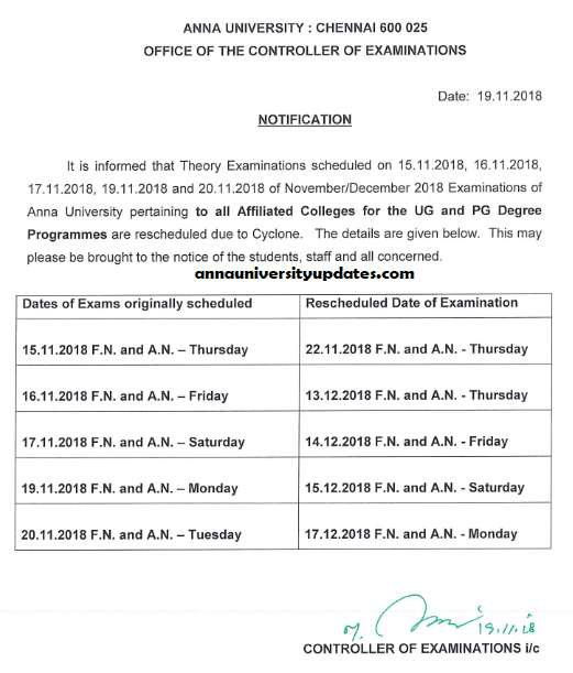 Rescheduled-Notification-COE1-Anna-University-Exams-Postponed-nov-dec-2018