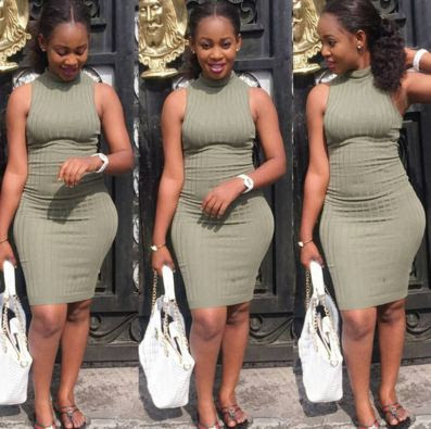 Checkout the curves on Harrysongz's daughter