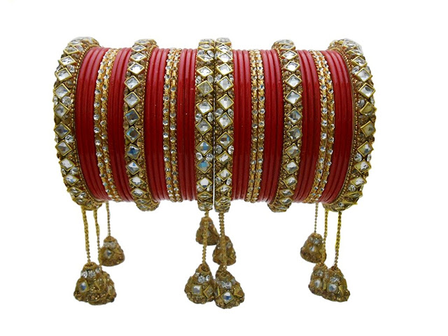 10 Stunning Bridal Bangles Designs for an Indian Bride