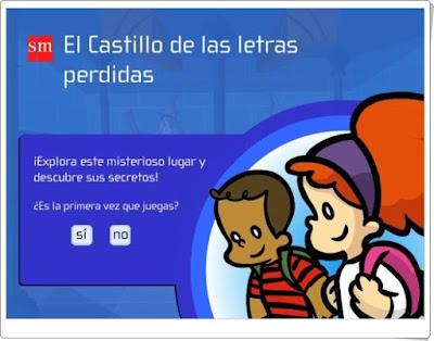 """""""El Castillo de las Letras Perdidas"""" (3º Primaria Lengua)"""