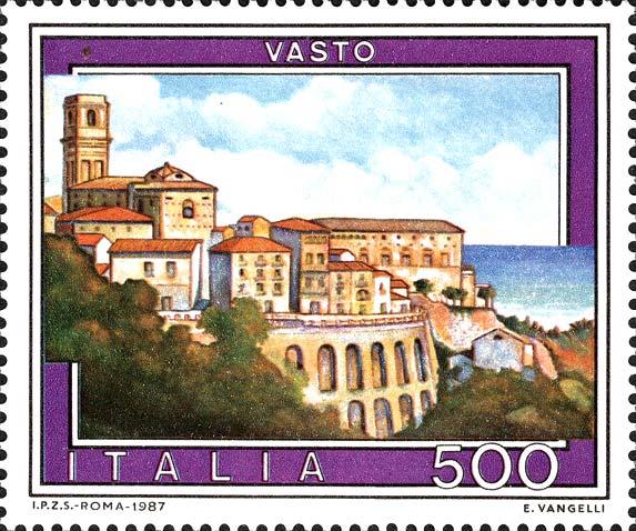 Francobolli Italiani: NoiVastesi: Filatelia: Il 9 Maggio 1987 L'emissione Dello