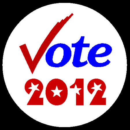 vote 2012 button