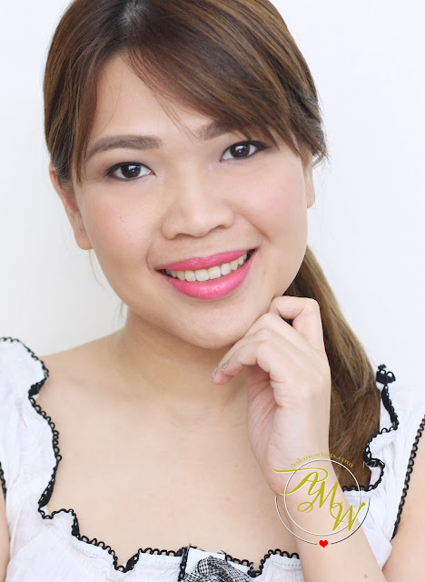 a photo of askmewhats nikki tiu wearing Pink Sugar Sweet Cheeks HD Cheek Color in Tokyo Rush