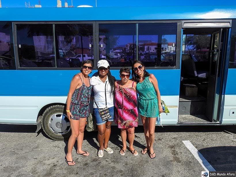 Kézia da Guia Brasileiro em Curaçao - Diário de Bordo: cruzeiro pelo Caribe