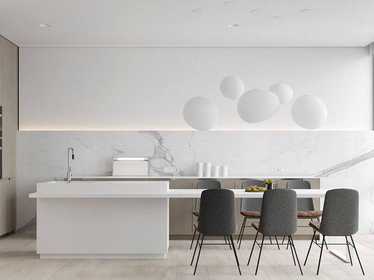 thiết kế thi công nội thất nhà bếp độc đáo 11