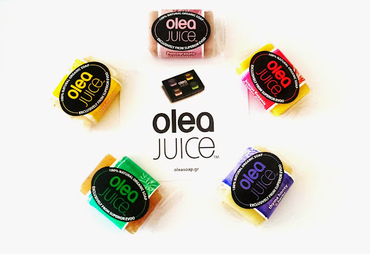 Natural organic bar soap by OLEA JUICE.