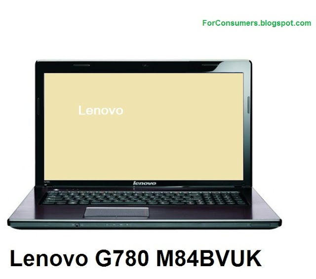 Lenovo G780 M84BVUK laptop test and review