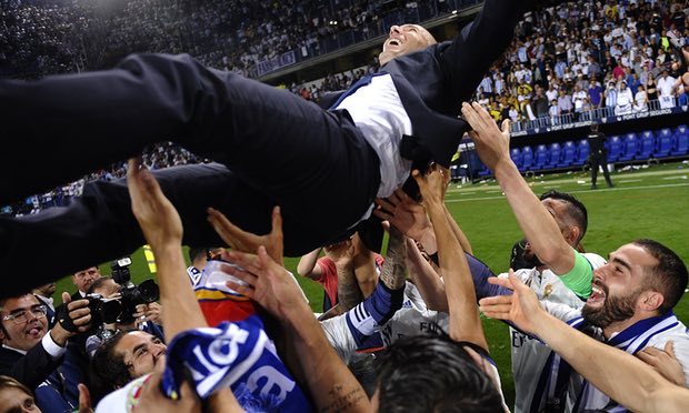 Real Madrid, champions again, but with a coach who is only just starting