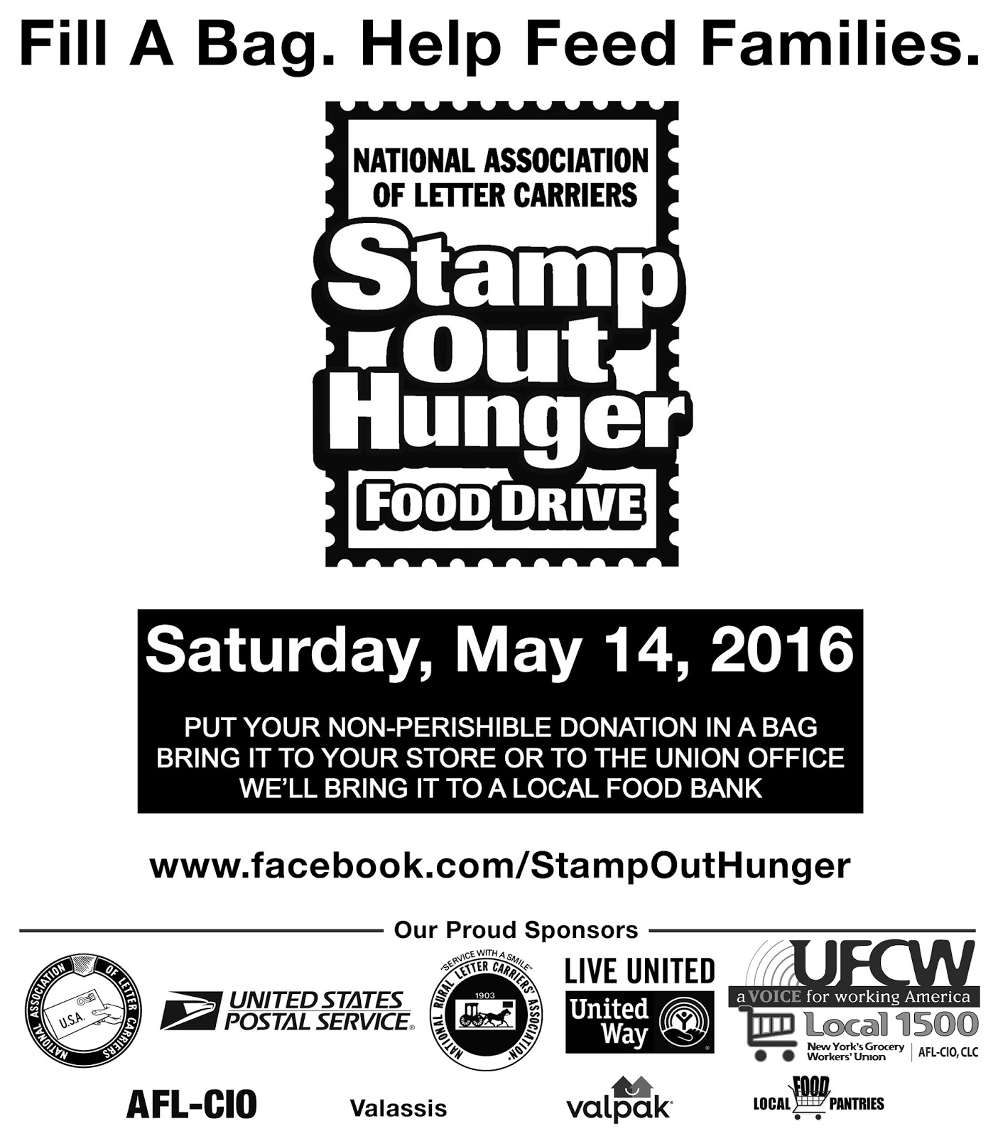 UFCW Local 1500 Blog: Stamp Out Hunger-