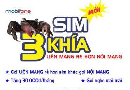 Hòa mạng sim Ba Khía Mobifone nhận ưu đãi khủng