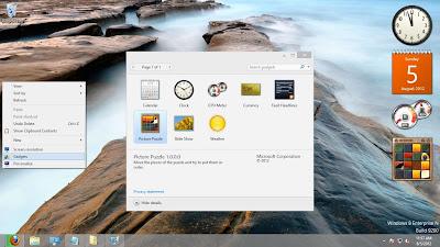get back gadget in windows 8 rtm