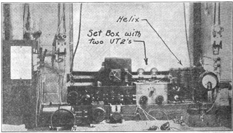Transmitter of station 1XX