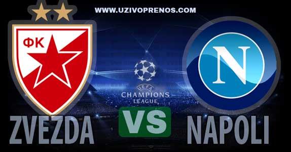 Liga šampiona: Crvena zvezda - Napoli uživo prenos