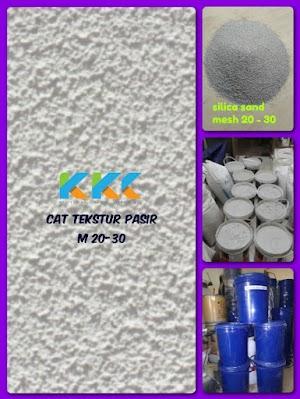 Cat Tekstur Pasir M 20-30 Kemasan Galon